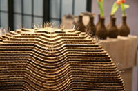 laser cut cardboard for David Stark design