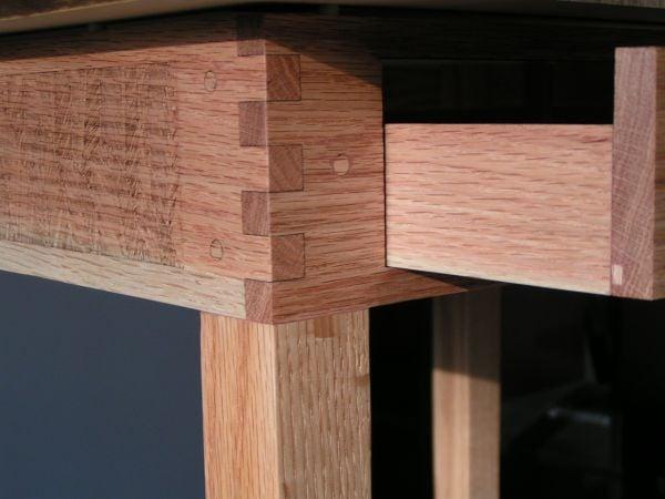 Laser cut wooden parts for furniture