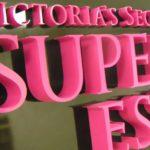 laser cut Victoria's Secret sign