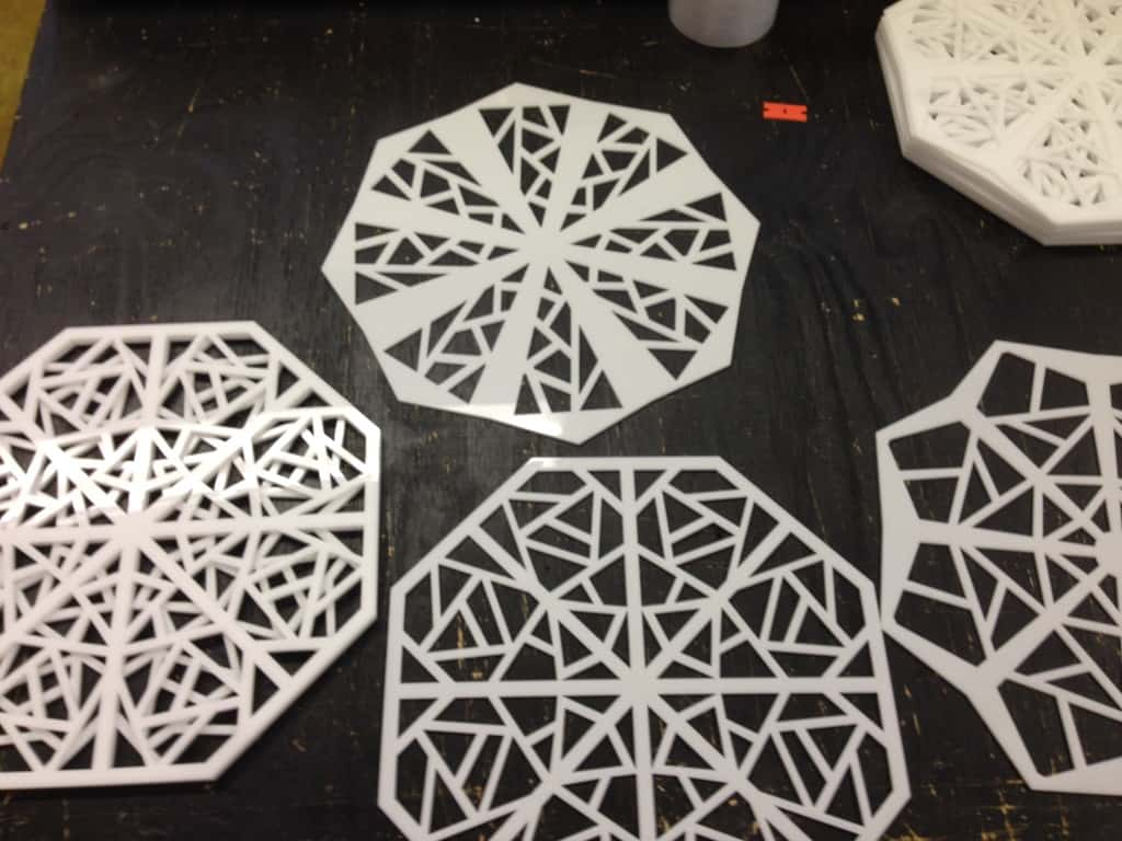 laser cut moma snowflakes
