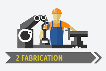 Laser Cut Fabrication Infographic