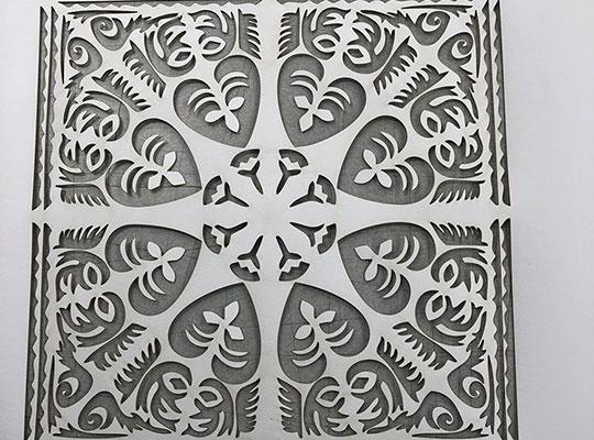 Laser Cut Pattern Design