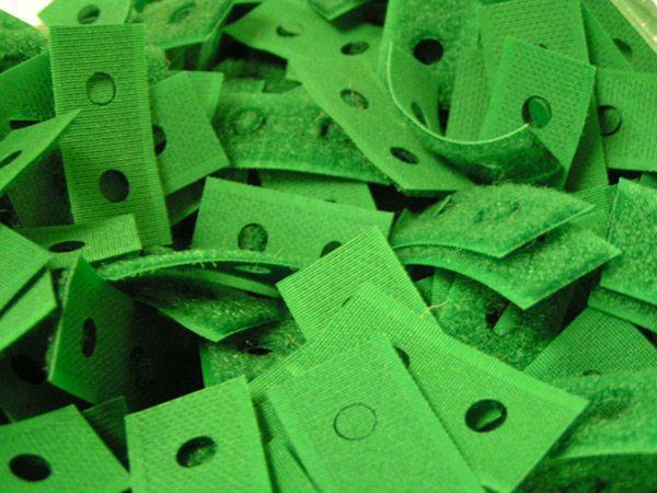 Laser Cut Velcro Straps