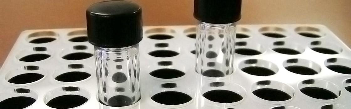 Laser Cut Vial Tray Prototype