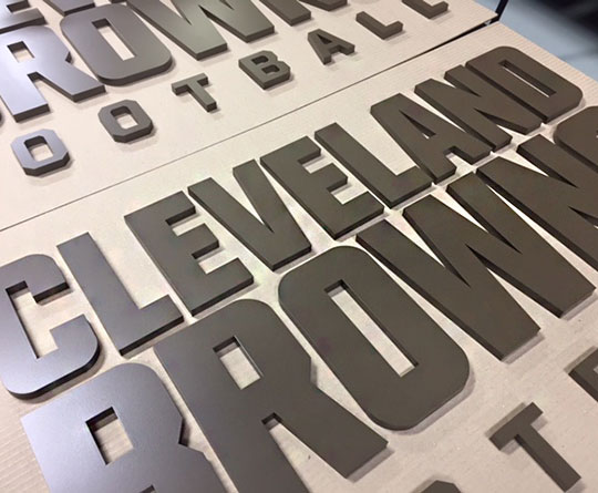 Custom 3D Company Sign Letters