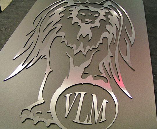 Custom 3D Company Sign