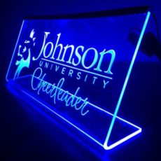 Laser Cut Engraved LED Sign