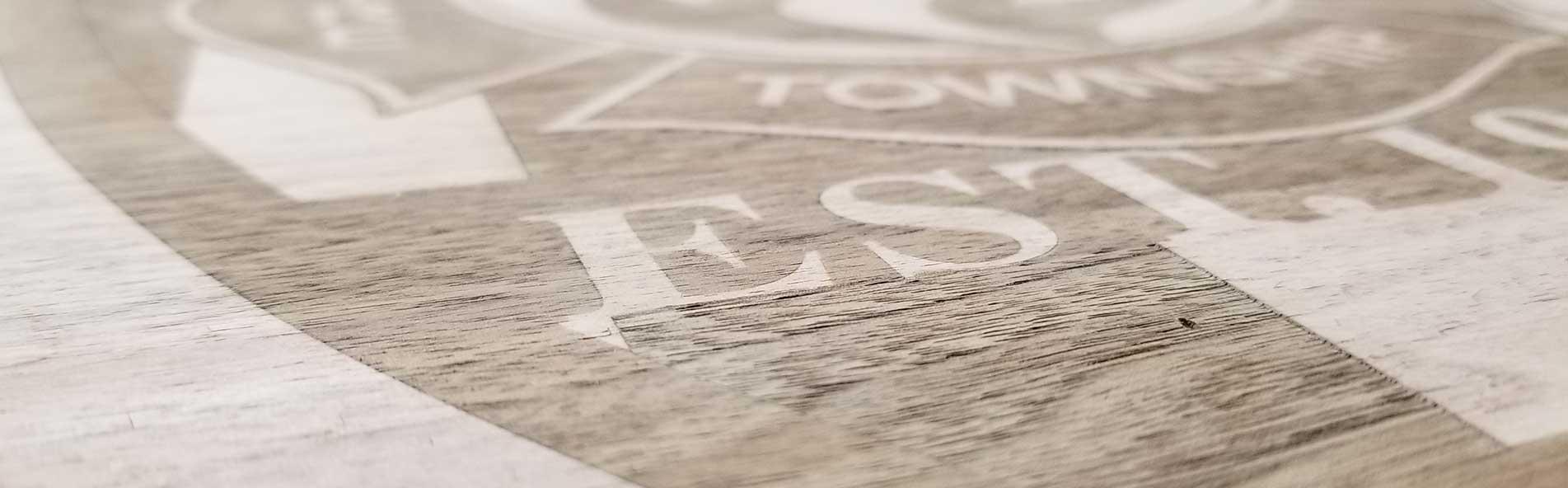 Laser Engraved Plywood