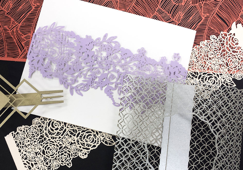 Belly Band Invite Wraps