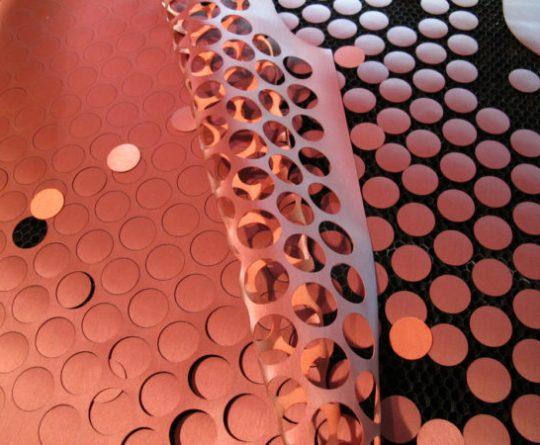 Laser Cut Nylon Fabric