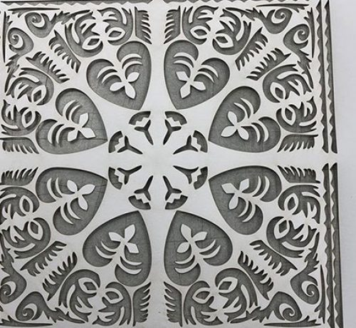 Laser Cut Pattern Design